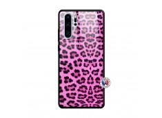 Coque Huawei P30 PRO Pink Leopard Verre Trempe