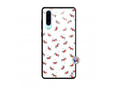 Coque Huawei P30 Cartoon Heart Verre Trempe