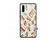 Coque Huawei P30 Vintage Tape Verre Trempe