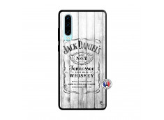 Coque Huawei P30 White Old Jack Verre Trempe