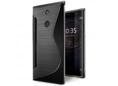 Coque Sony Xperia XA2 Ultra Silicone Grip-Noir
