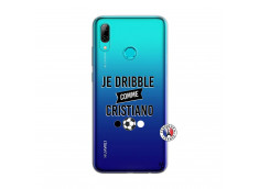 Coque Huawei P Smart 2019 Je Dribble Comme Cristiano