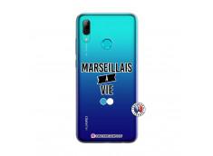 Coque Huawei P Smart 2019 Marseillais à Vie