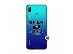 Coque Huawei P Smart 2019 Oh Putain C Est L Heure De L Apero