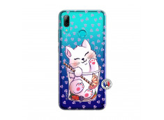 Coque Huawei P Smart 2019 Smoothie Cat