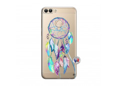 Coque Huawei P Smart Blue Painted Dreamcatcher