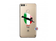 Coque Huawei P Smart Coupe du Monde Rugby-Italy