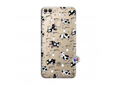 Coque Huawei P Smart Cow Pattern