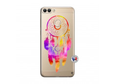 Coque Huawei P Smart Dreamcatcher Rainbow Feathers