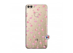 Coque Huawei P Smart Flamingo