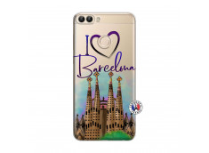 Coque Huawei P Smart I Love Barcelona