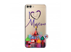 Coque Huawei P Smart I Love Moscow