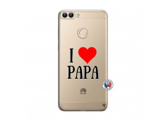 Coque Huawei P Smart I Love Papa