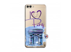 Coque Huawei P Smart I Love Paris Arc Triomphe