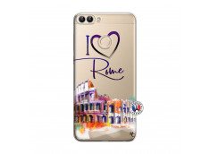 Coque Huawei P Smart I Love Rome