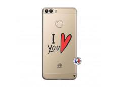 Coque Huawei P Smart I Love You