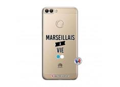 Coque Huawei P Smart Marseillais à Vie