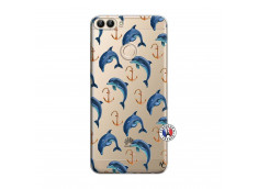Coque Huawei P Smart Dauphins