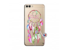 Coque Huawei P Smart Pink Painted Dreamcatcher