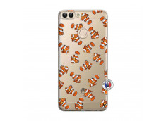 Coque Huawei P Smart Petits Poissons Clown
