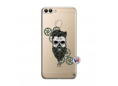 Coque Huawei P Smart Skull Hipster