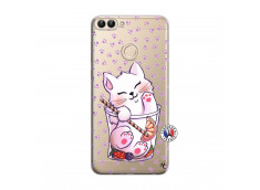 Coque Huawei P Smart Smoothie Cat