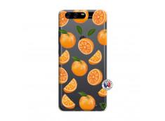 Coque Huawei P10 Orange Gina