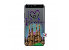 Coque Huawei P10 I Love Barcelona