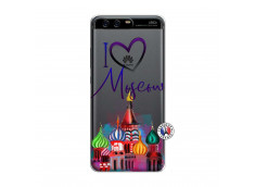 Coque Huawei P10 I Love Moscow