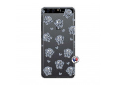 Coque Huawei P10 Petits Elephants