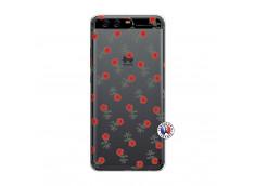 Coque Huawei P10 Rose Pattern