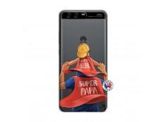 Coque Huawei P10 Super Papa et Super Bébé