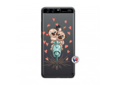 Coque Huawei P10 Puppies Love