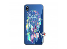 Coque Huawei P20 Lite Blue Painted Dreamcatcher