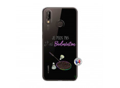 Coque Huawei P20 Lite Je Peux Pas J Ai Badminton