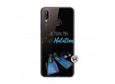 Coque Huawei P20 Lite Je Peux Pas J Ai Natation