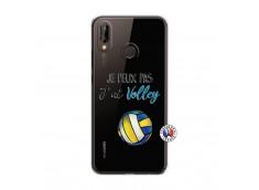 Coque Huawei P20 Lite Je Peux Pas J Ai Volley