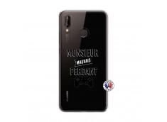 Coque Huawei P20 Lite Monsieur Mauvais Perdant