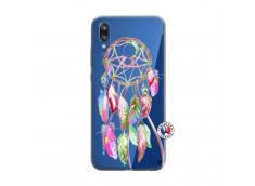 Coque Huawei P20 Lite Pink Painted Dreamcatcher