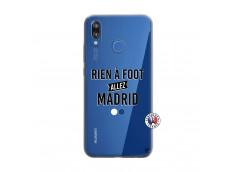 Coque Huawei P20 Lite Rien A Foot Allez Madrid