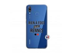Coque Huawei P20 Lite Rien A Foot Allez Rennes