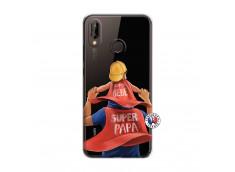 Coque Huawei P20 Lite Super Papa et Super Bébé