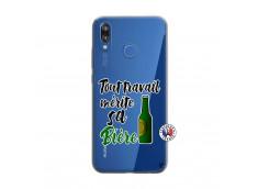 Coque Huawei P20 Lite Tout Travail Merite Sa Biere
