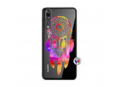 Coque Huawei P20 PRO Dreamcatcher Rainbow Feathers