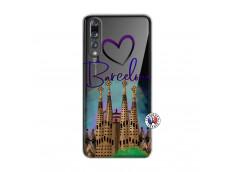 Coque Huawei P20 PRO I Love Barcelona
