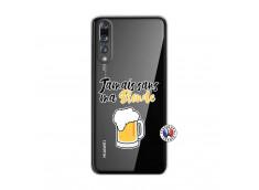 Coque Huawei P20 PRO Jamais Sans Ma Blonde