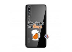 Coque Huawei P20 PRO Jamais Sans Ma Rousse