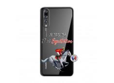 Coque Huawei P20 PRO Je Peux Pas J Ai Equitation