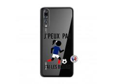 Coque Huawei P20 PRO Je Peux Pas J Ai Les Bleues