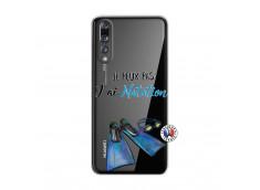 Coque Huawei P20 PRO Je Peux Pas J Ai Natation